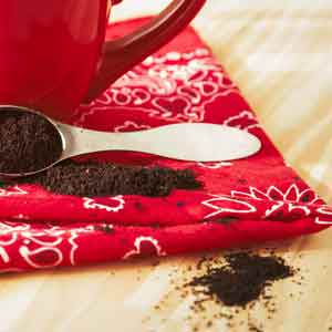 coffee grounds are mistaken for mouse poop sometimes